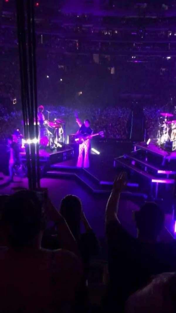 Madison Square Garden, secção: 112, fila: 10 , lugar: 9