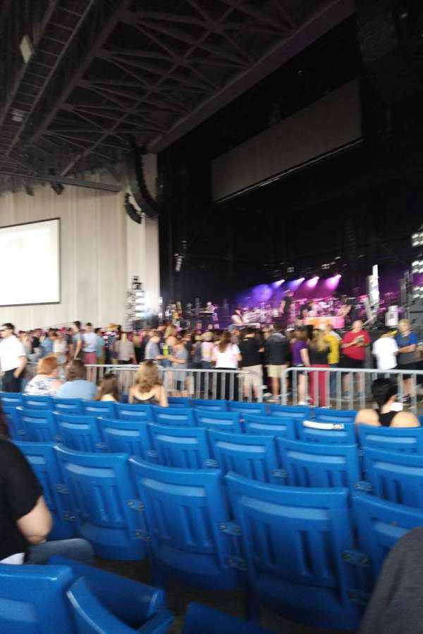 PNC Music Pavilion, secção: 1, fila: N, lugar: 20