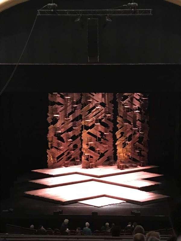 Paramount Theatre (Seattle), secção: MEZ13, fila: H, lugar: 8