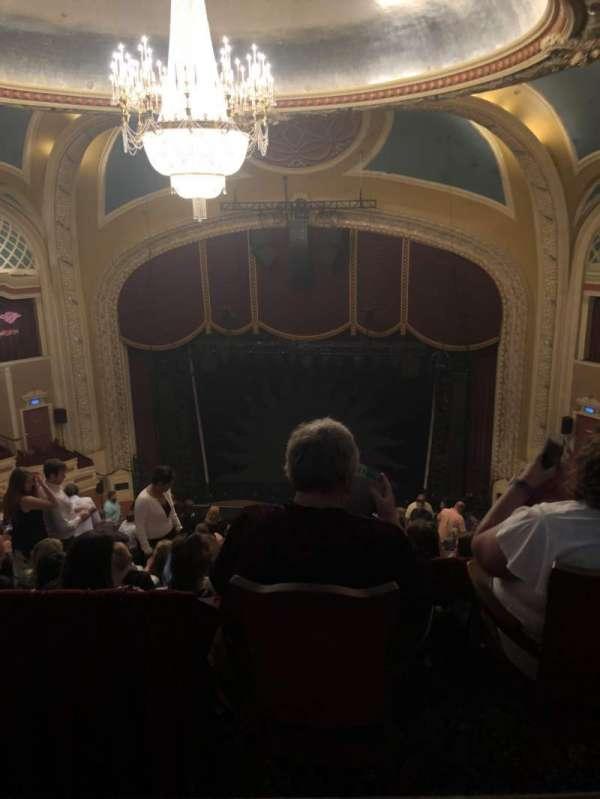 Orpheum Theatre (Minneapolis), secção: Balcony 6, fila: Q, lugar: 6