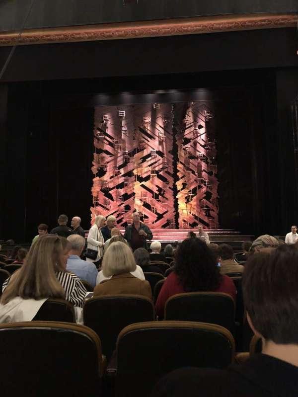 Paramount Theatre (Seattle), secção: MF2, fila: M, lugar: 3