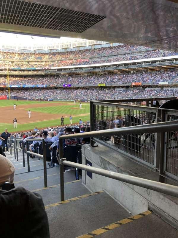 Yankee Stadium, secção: 127b, fila: 19, lugar: 1
