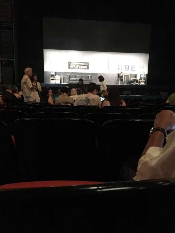 Curran Theater, secção: Orchestra, fila: N, lugar: 102