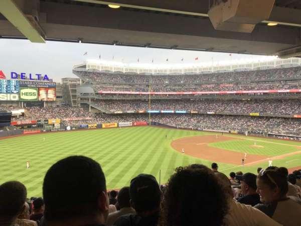 Yankee Stadium, secção: 230, fila: 22, lugar: 6