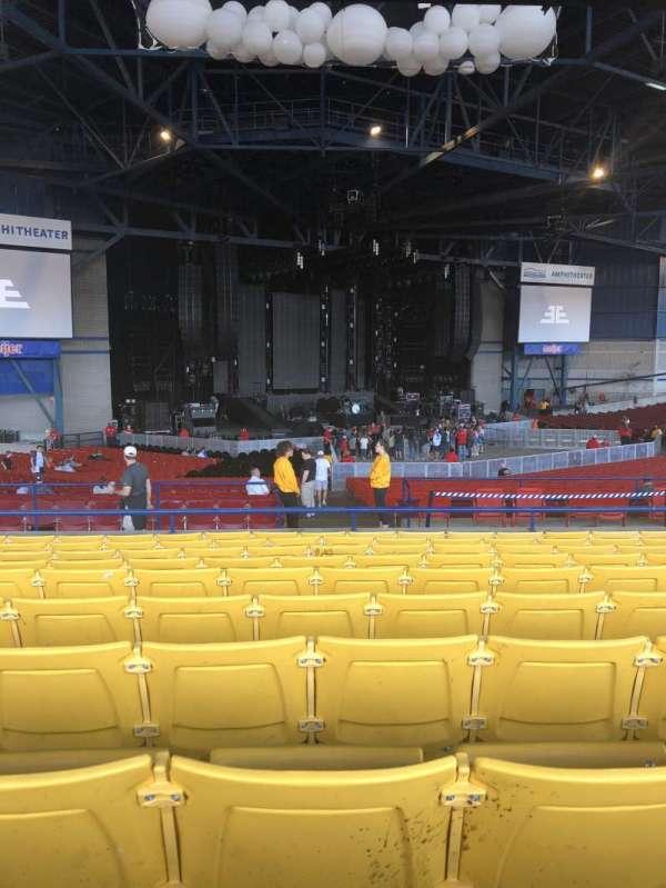 American Family Insurance Amphitheater, secção: 7, fila: K, lugar: 29