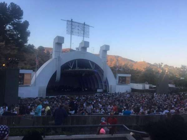 Hollywood Bowl, secção: K2, fila: 5, lugar: 104-105