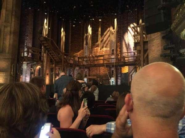 CIBC Theatre, secção: Orchestra R, fila: J, lugar: 12