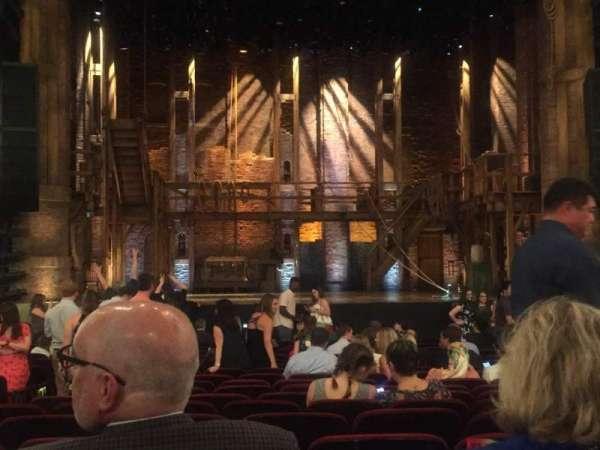 CIBC Theatre, secção: Orchestra C, fila: U, lugar: 105