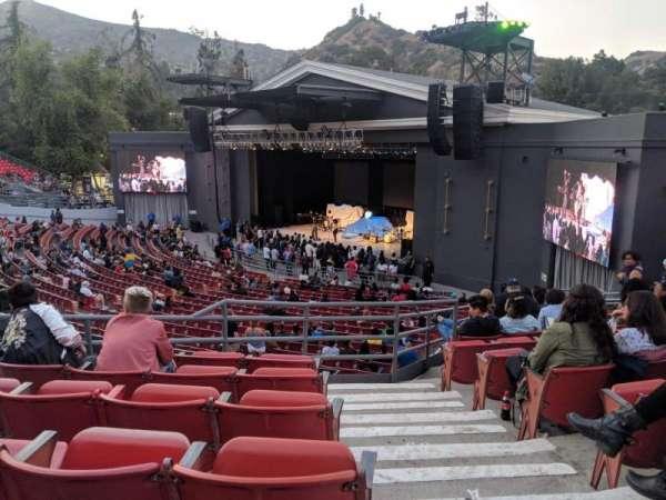 The Greek Theatre, secção: South Terrace R2, fila: D, lugar: 20
