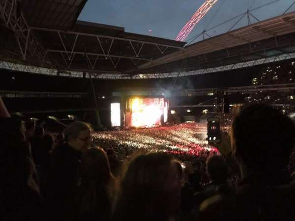 Wembley Stadium, secção: 223, fila: 7