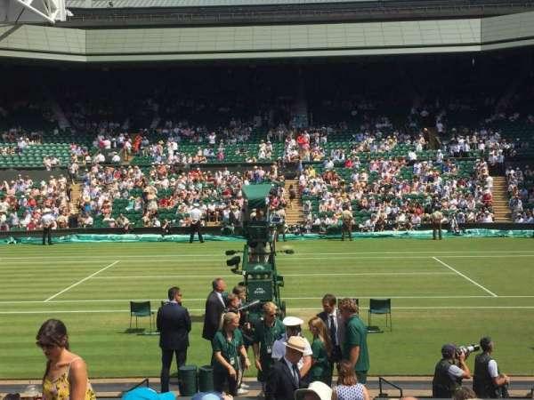 Wimbledon, Centre Court, secção: 104, fila: L, lugar: 27