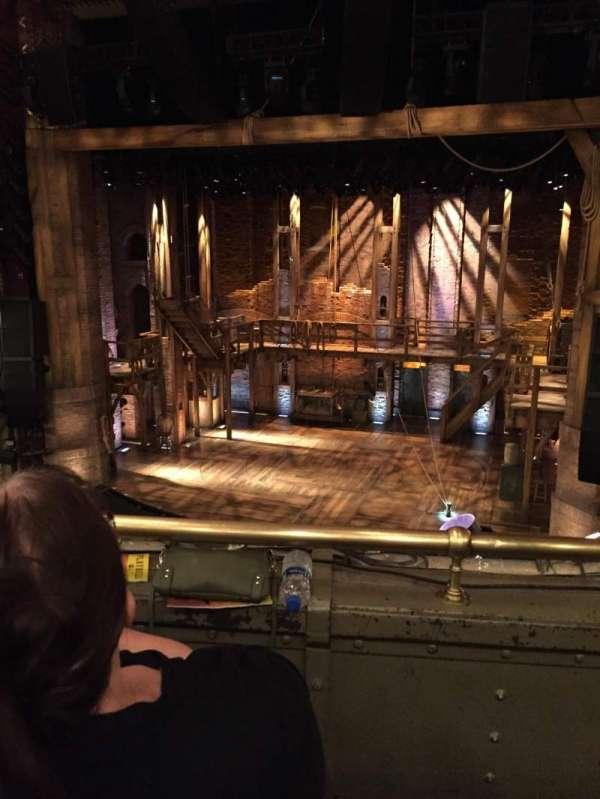 CIBC Theatre, secção: Mezzanine RC, fila: B, lugar: 314