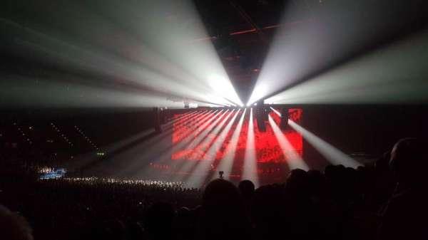 Arena Birmingham, secção: 3 lower, fila: P, lugar: 121