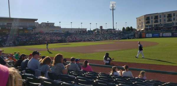 Parkview Field, secção: 101, fila: J, lugar: 3