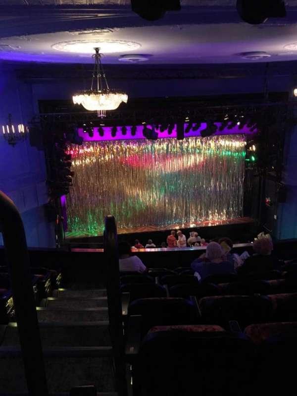 Hayes Theater, secção: Mezzanine C, fila: H, lugar: 114