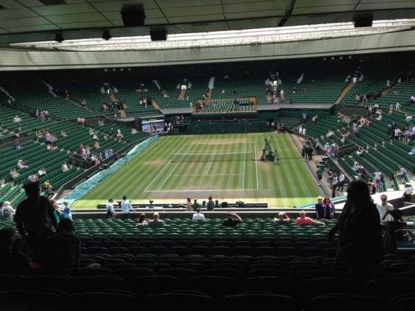 Wimbledon, Centre Court, secção: 309, fila: V, lugar: 199