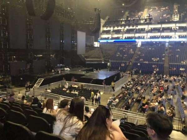 The O2 Arena, secção: 101, fila: R, lugar: 46