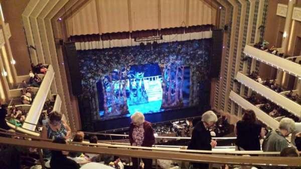 Reynolds Hall at The Smith Center, secção: Balcony, fila: F, lugar: 217