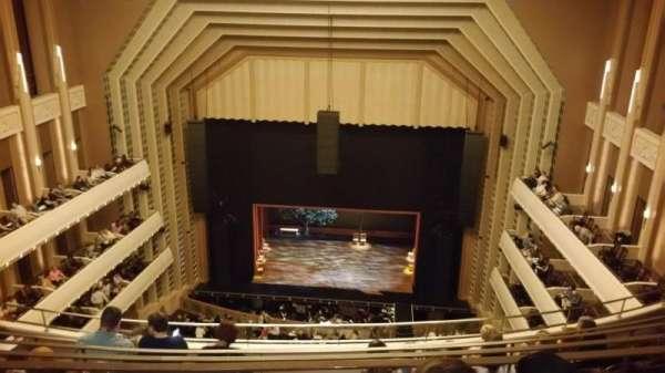Reynolds Hall at The Smith Center, secção: Balcony, fila: F, lugar: 229