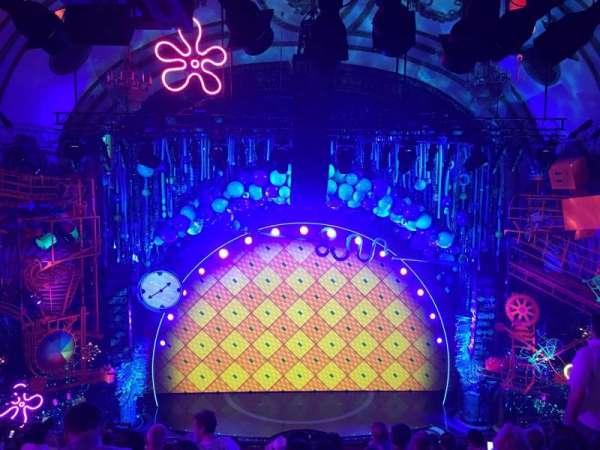Palace Theatre (Broadway), secção: Mezz, fila: K, lugar: 101