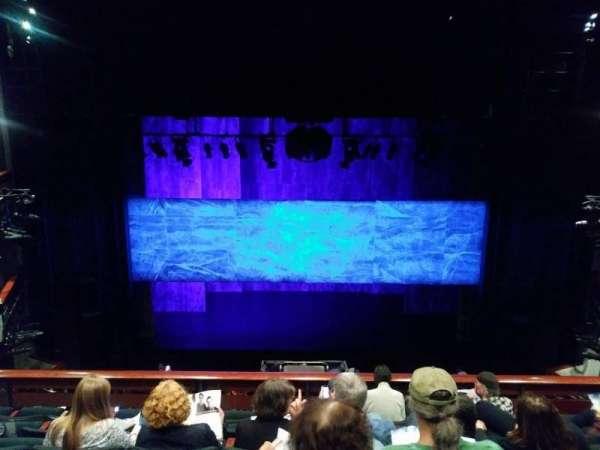 The Roda Theatre at the Berkeley REP, secção: Mezzanine, fila: F, lugar: 215