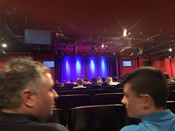 Leicester Square Theater, fila: O, lugar: 15