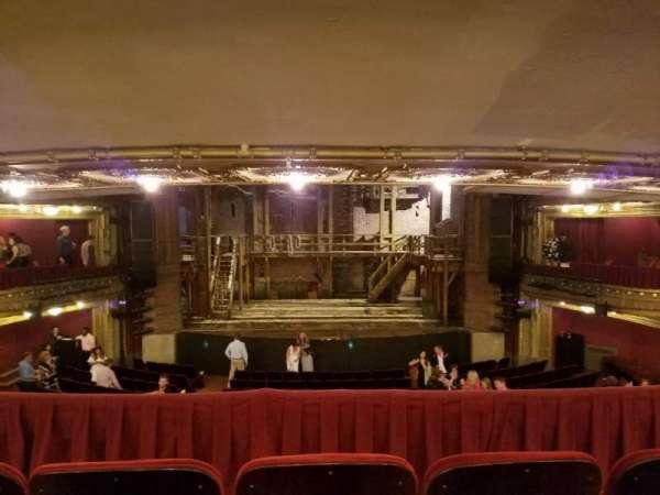 CIBC Theatre, secção: Dress Circle RC, fila: C, lugar: 206