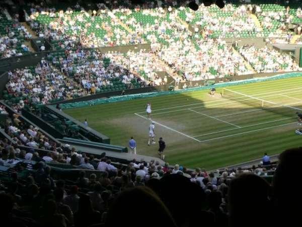 Wimbledon, Centre Court, secção: Gangway 506, fila: Z, lugar: 141
