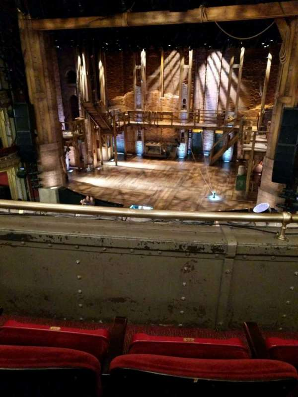 CIBC Theatre, secção: Mezzanine RC, fila: B, lugar: 316