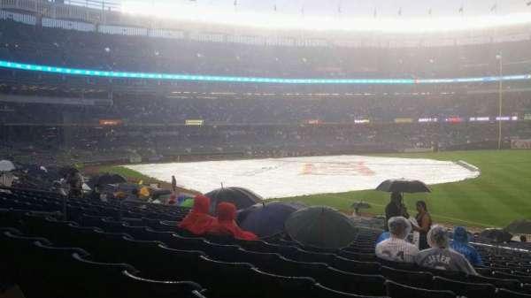 Yankee Stadium, secção: 111, fila: 25, lugar: 5