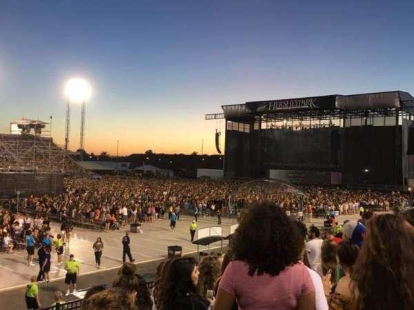 Hershey Park Stadium, secção: 29, fila: C, lugar: 15