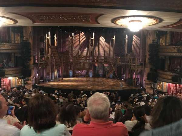 Richard Rodgers Theatre, secção: Orchestra C, fila: S, lugar: 105