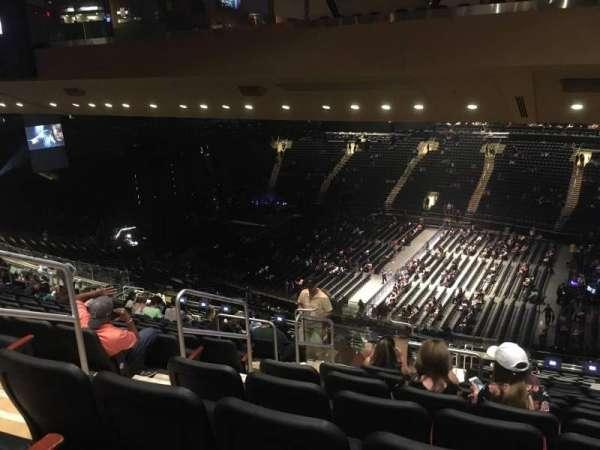 Madison Square Garden, secção: 226, fila: 18, lugar: 5
