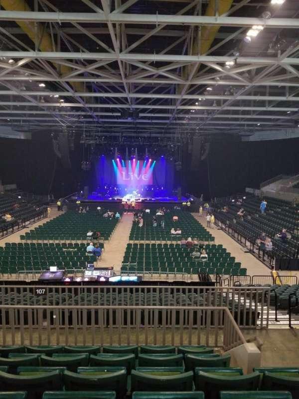 BancorpSouth Arena, secção: 211, fila: 6, lugar: 3