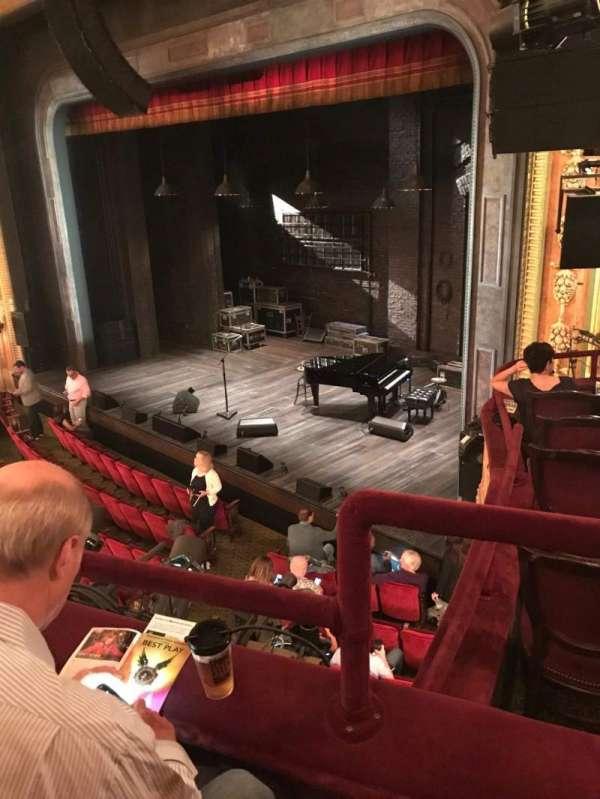 Walter Kerr Theatre, secção: Mezz - Right, fila: B, lugar: 24