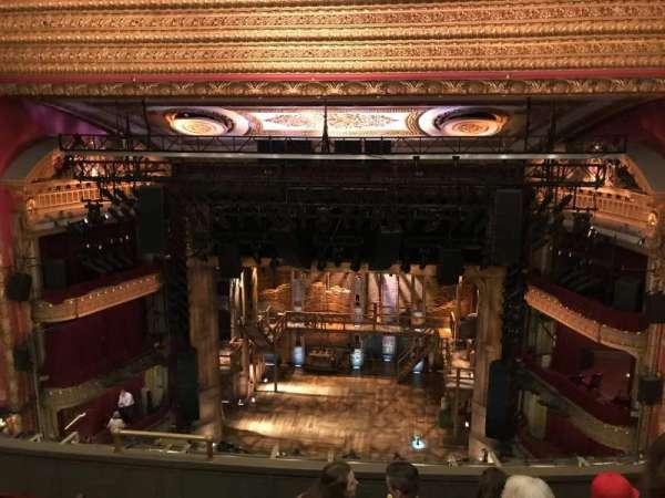 CIBC Theatre, secção: Balcony RC, fila: F, lugar: 408