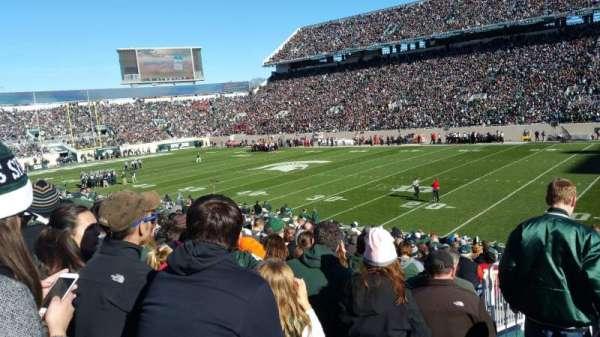 Spartan Stadium, secção: 21, fila: 27, lugar: 18