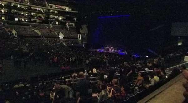 Staples Center, secção: PR6, fila: 1, lugar: 11