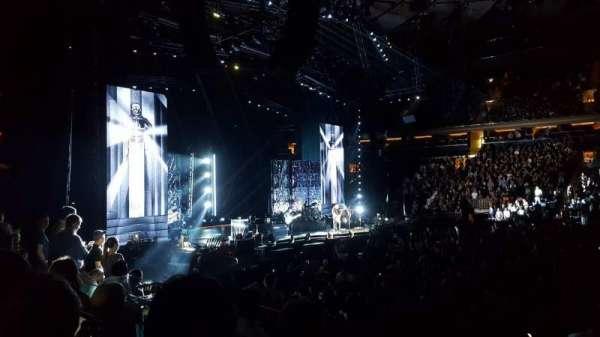 Madison Square Garden, secção: 117, fila: 8, lugar: 11