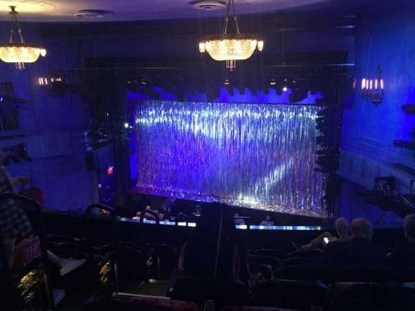 Hayes Theater, secção: Mezzanine R, fila: G, lugar: 2