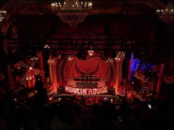 Emerson Colonial Theatre, secção: Balc, fila: H, lugar: 104