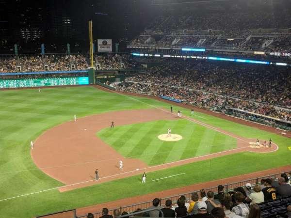 PNC Park, secção: 325, fila: D, lugar: 16
