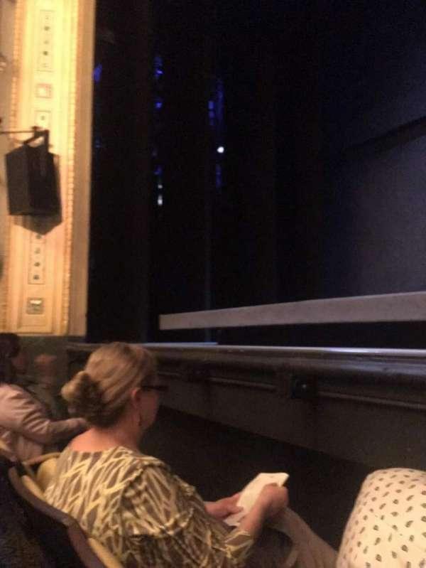 Hudson Theatre, secção: Orchestra C, fila: B, lugar: 110