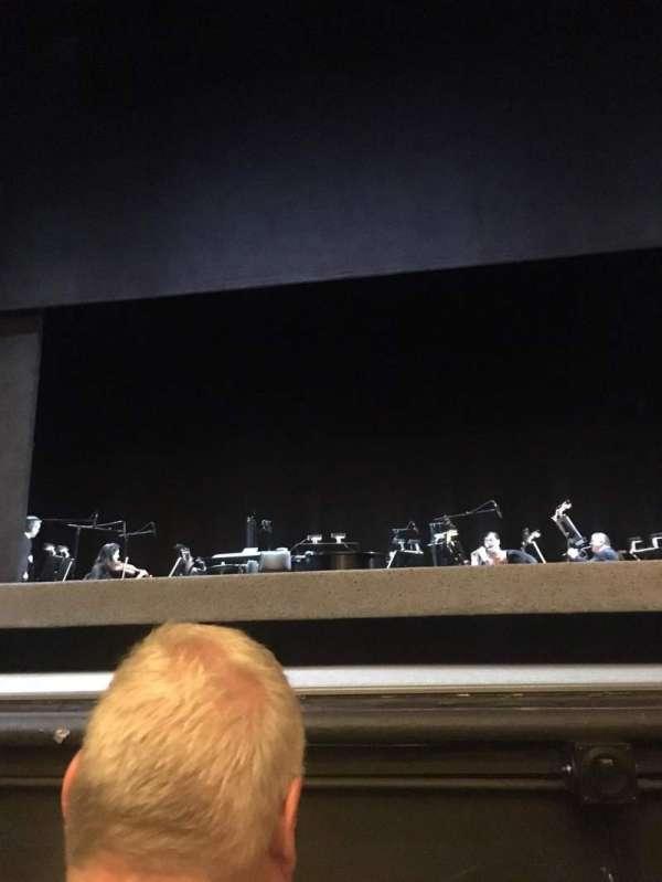 Hudson Theatre, secção: Orchestra C, fila: B , lugar: 110