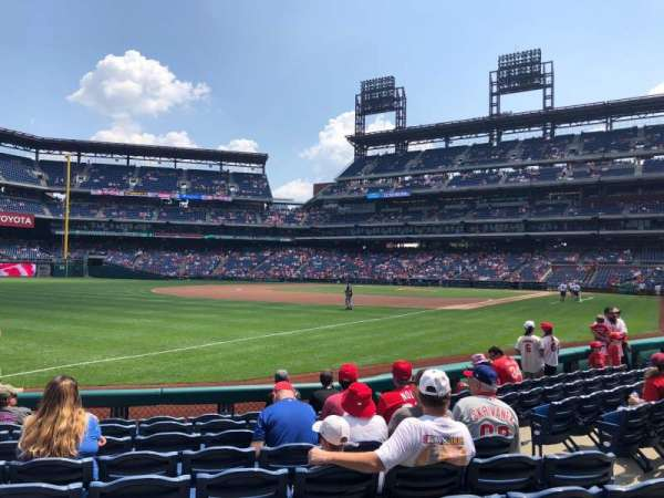 Citizens Bank Park, secção: 137, fila: 9, lugar: 5