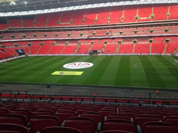 Wembley Stadium, secção: 226, fila: 16, lugar: 285