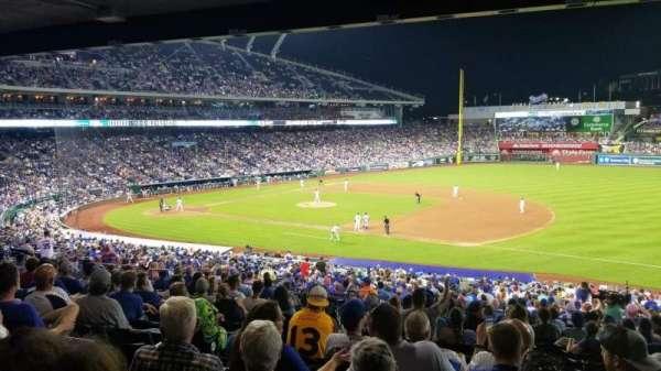 Kauffman Stadium, secção: 239, fila: Pp, lugar: 4