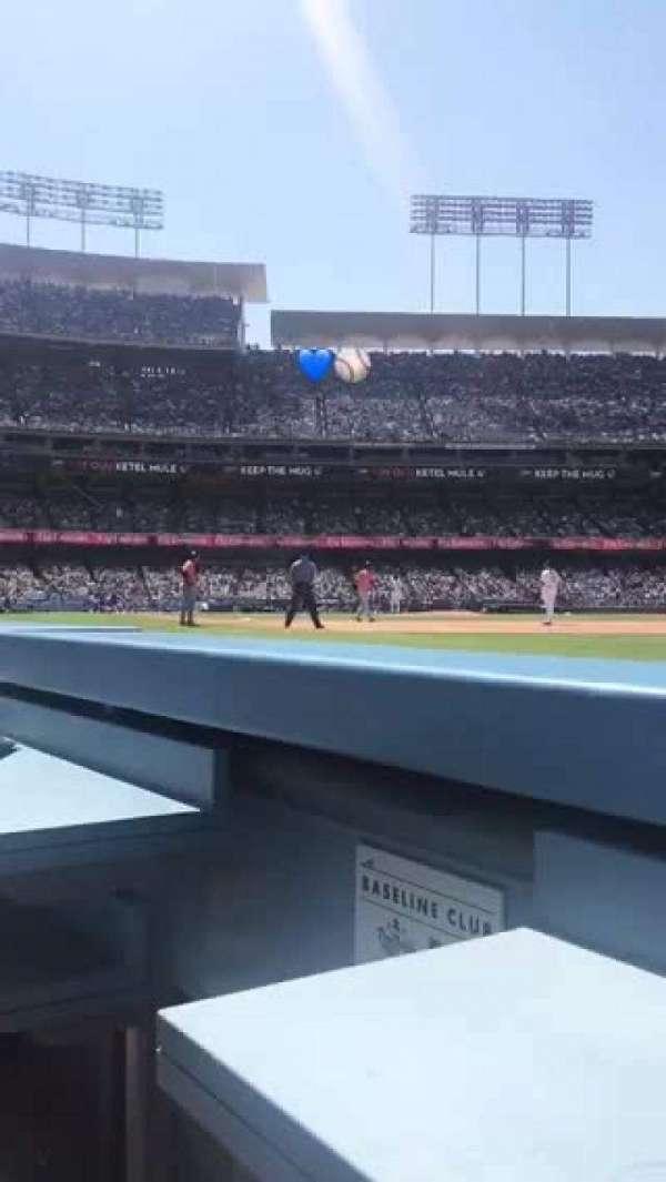 Dodger Stadium, secção: 36BL, fila: 1, lugar: 1-2