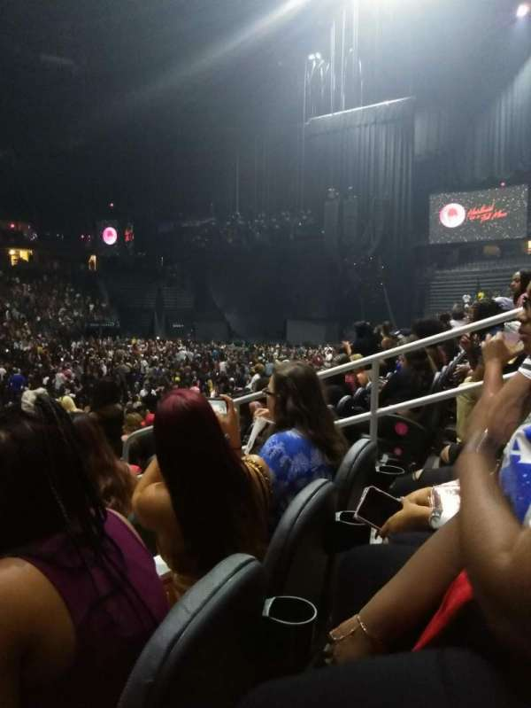 T-Mobile Arena, secção: 14, fila: G, lugar: 9