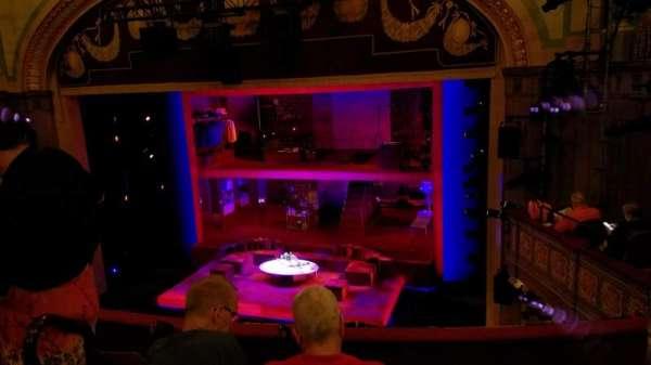 Booth Theatre, secção: Mezzanine R, fila: E, lugar: 6